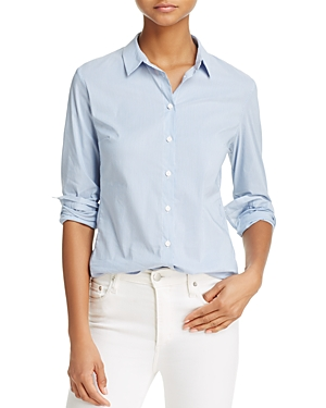 French Connection Eastside Stripe Cotton Button-Down Shirt