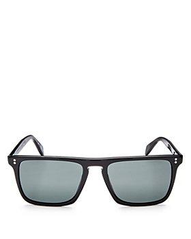 Oliver Peoples - Men's Bernardo Polarized Square Sunglasses, 58mm
