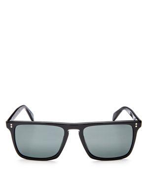 Oliver Peoples Bernardo Polarized Square Sunglasses, 58mm