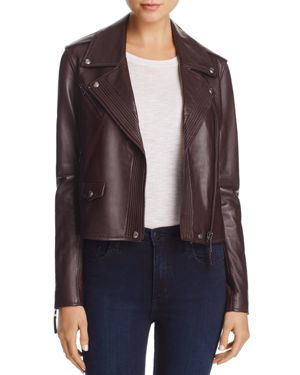 Paige Leather Danette Jacket
