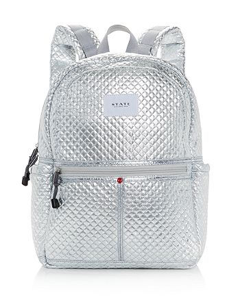 d7cf9ce892d STATE - Kane Flatbush Metallic Backpack