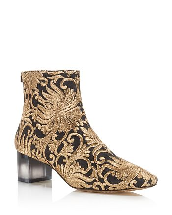 Tory Burch - Women's Carlotta Embroidered Booties