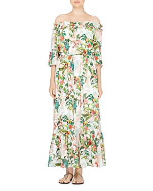 Catherine Catherine Malandrino Hewett Off-the-Shoulder Maxi Dress
