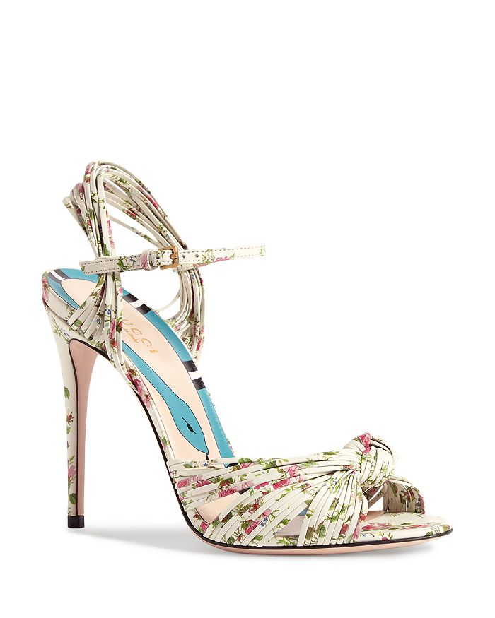 31d1f32f9b1 Gucci - Women s Leather Knotted High-Heel Sandals