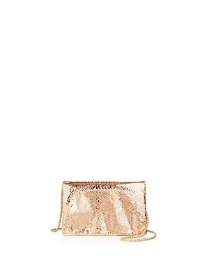 Street Level Toni Metallic Embossed Crossbody - 100% Exclusive