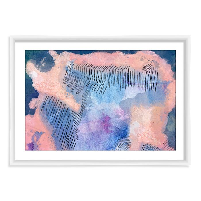 PTM Images - Coral Strokes Wall Art - 100% Exclusive
