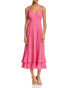 nanette Nanette Lepore Tiered Midi Dress