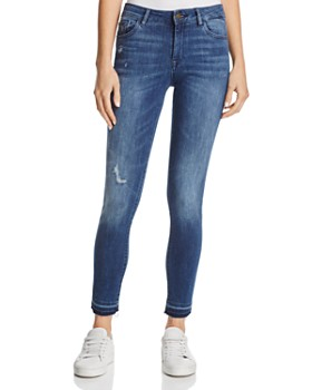 DL1961 - Margaux Instasculpt Ankle Skinny Jeans in River - 100% Exclusive