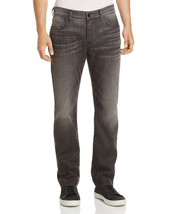 7 For All Mankind - Slimmy Airweft Slim Fit Jeans in Halide Gray