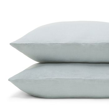 Amalia Home Collection - Stonewashed Linen King Pillowcase, Pair - 100% Exclusive
