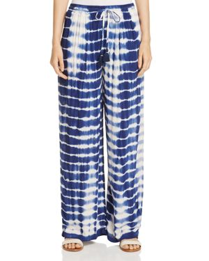 Jachs Girlfriend Tie-Dye Wide Leg Pants