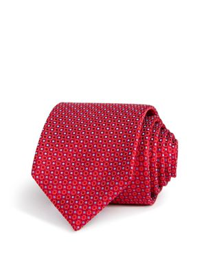 Canali Open Closed Circles Classic Tie