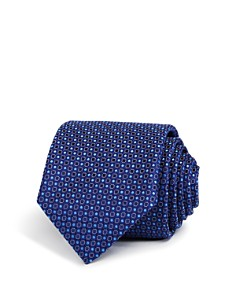 Canali Open Closed Circles Classic Tie - Bloomingdale's_0
