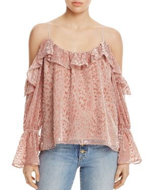 Parker Renzo Cold-Shoulder Top - 100% Exclusive