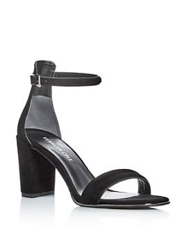Kenneth Cole - Women's Lex Suede Ankle Strap Block Heel Sandals