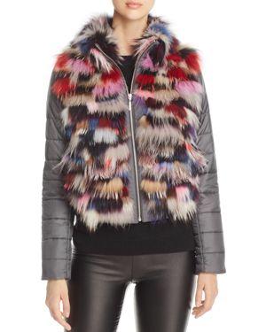 Maximilian Furs Saga Fox Fur Mixed Media Jacket - 100% Exclusive