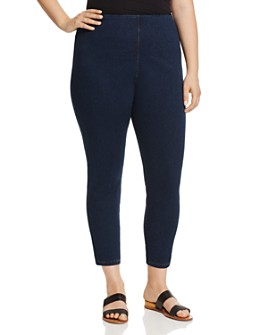 Lyssé Plus - Toothpick Crop Denim Leggings