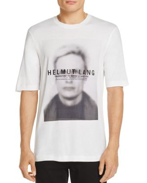 Helmut Lang Ghost Face Tee