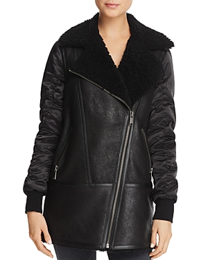 Tamryn Long Shearling Jacket