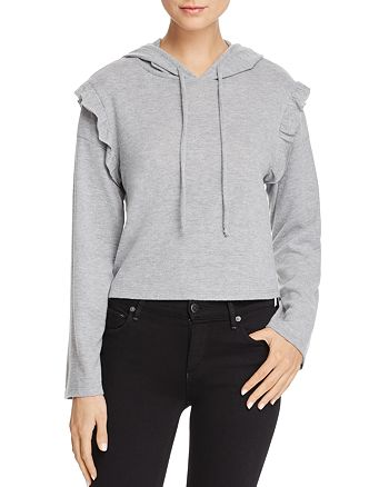 Project Social T - Ruffle-Sleeve Hoodie - 100% Exclusive