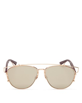 Dior - Women's Technologic Aviator Mirror Sunglasses, 57mm