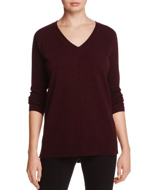 C by Bloomingdale's Cashmere Donegal High/Low Sweater - 100% Exclusive