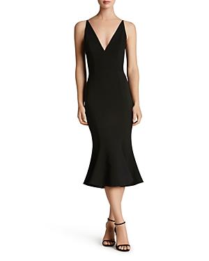 Dress The Population Midi dresses DRESS THE POPULATION ISABELLE MERMAID MIDI DRESS