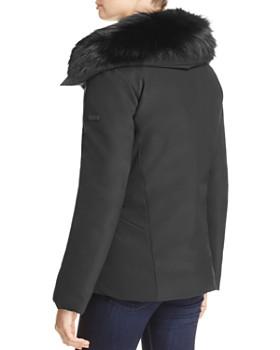 Derek Lam 10 Crosby - Fox Fur Trim Short Down Anorak