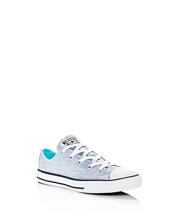 Converse - Girls' Chuck Taylor All Star Metallic Jersey Lace Up Sneakers - Toddler, Little Kid