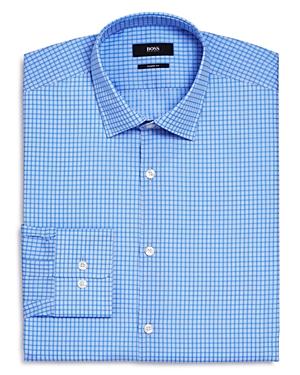 Boss Marley Check Sharp Fit - Regular Fit Dress Shirt