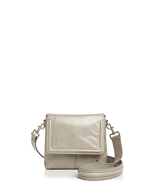 Halston Heritage Dylan Flap Small Leather Crossbody
