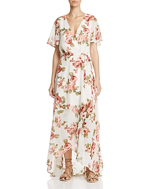 Show Me Your MuMu Marianne Wrap Maxi Dress