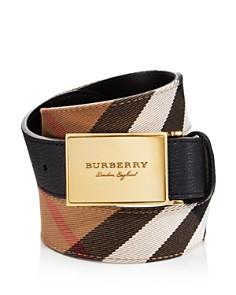 Burberry - George House Check Belt