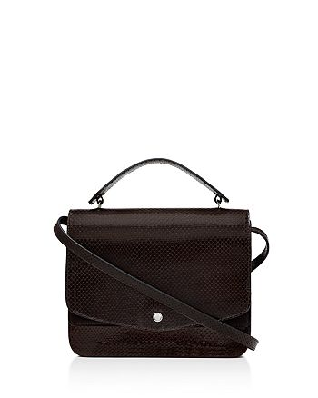 Elizabeth and James - Eloise Embossed Leather Shoulder Bag
