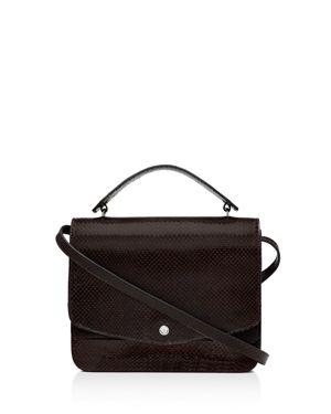 Elizabeth and James Eloise Embossed Leather Shoulder Bag 2649306