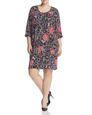 Junarose Olga Floral Print Shift Dress