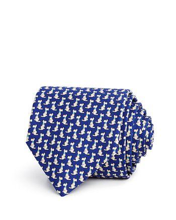 Salvatore Ferragamo - Dog Neat Classic Tie