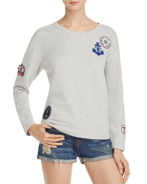 Soft Joie Rikke B Patch Sweatshirt