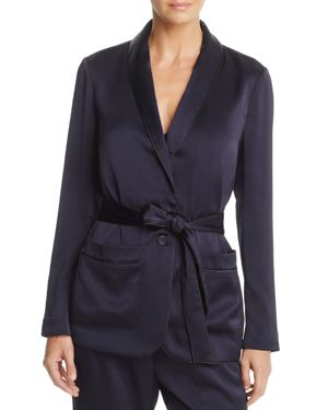 Soft Joie Anasophia Belted Piped Blazer
