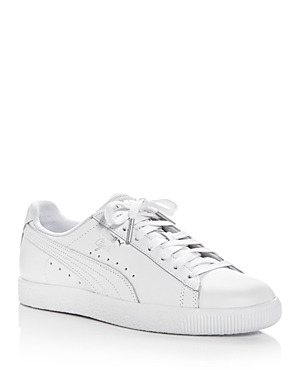 Puma Women's Clyde Core Lace Up Sneakers