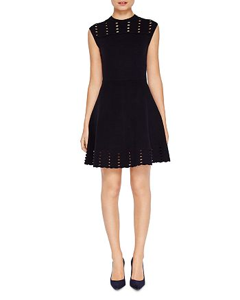 Ted Baker - Zaralie Jacquard Panel Skater Dress 8ab3dead9