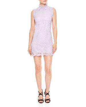 Sandro Golda Lace Mini Dress