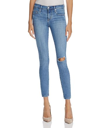 Nobody - Geo Skinny Ankle Jeans in Admire