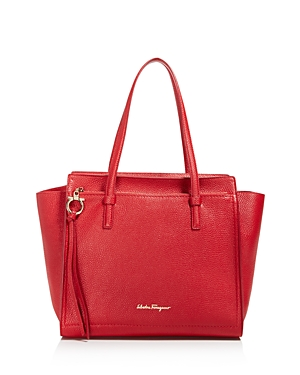 Salvatore Ferragamo Amy Medium Leather Tote