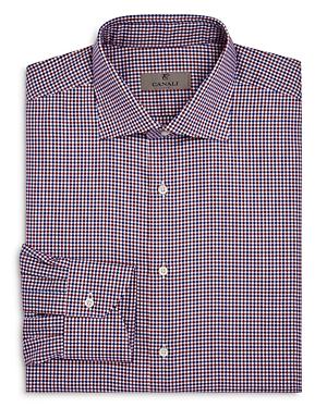 Canali Multicolored Tattersall Regular Fit Dress Shirt