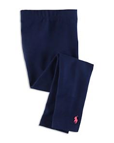 Polo Ralph Lauren Girls' Stretch Cotton Leggings - Little Kid - Bloomingdale's_0