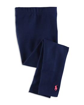 Ralph Lauren - Girls' Stretch Cotton Leggings - Little Kid