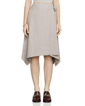 Bcbgmaxazria Claire Handkerchief-Hem Skirt