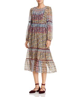 Beltaine Floral Midi Dress