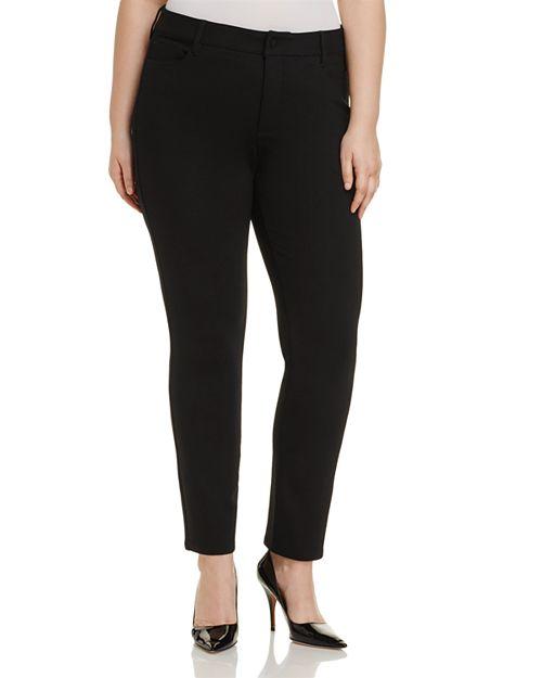 NYDJ Plus - Sheri Slim Pants - 100% Exclusive